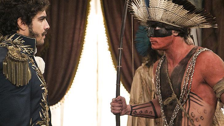 Índios tomam a cidade e encontram Dom Pedro. Principe devolve terras: