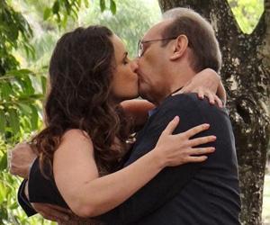 Eliane Giardini acredita que Herbert é pai de Gina em