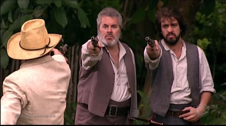 Na novela A Escrava Isaura, Martinho e Raimundo sofrerão - Foto: Divulgação