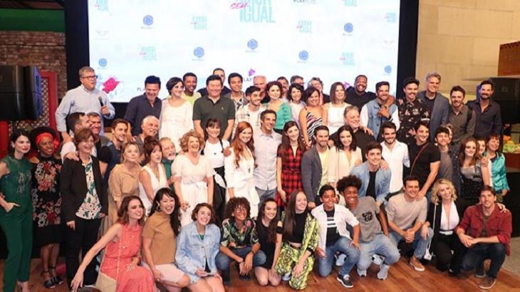 Amor Sem Igual foi lançada nesta quinta-feira. Novela estreia semana que vem. Foto: Divulgação
