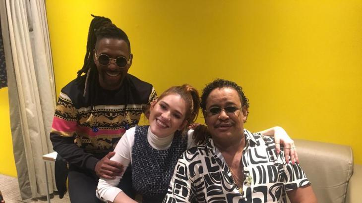Beto Jamaica, Ana Clara e Compadre Washington - Foto: Reproduçao