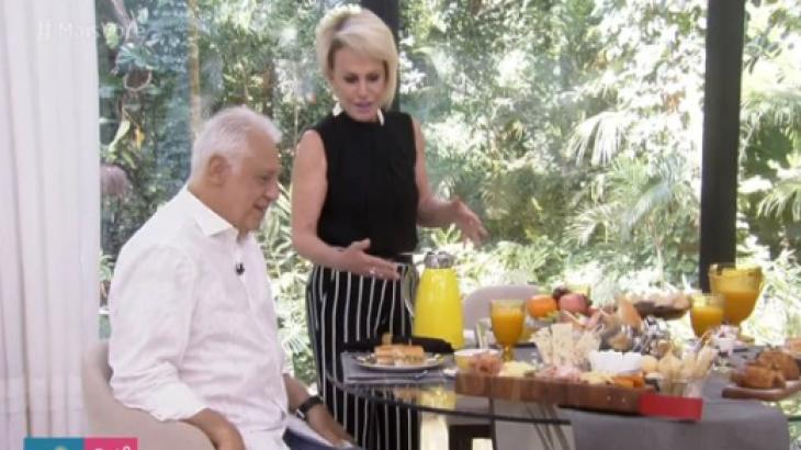 Ana Maria Braga e Antônio Fagundes - Foto: Reprodução/TV Globo
