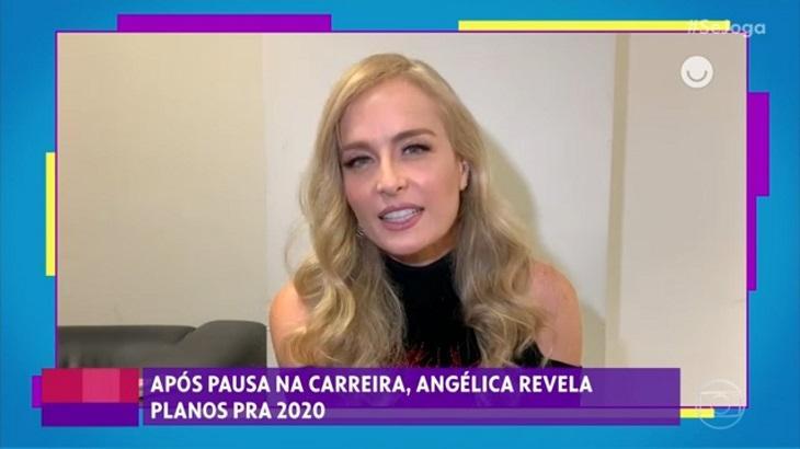 Angélica revela previsão de estreia de seu novo programa na Globo