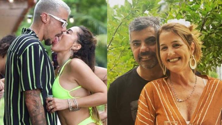 Anitta, Lipe Ribeiro, Fernando e Andrea