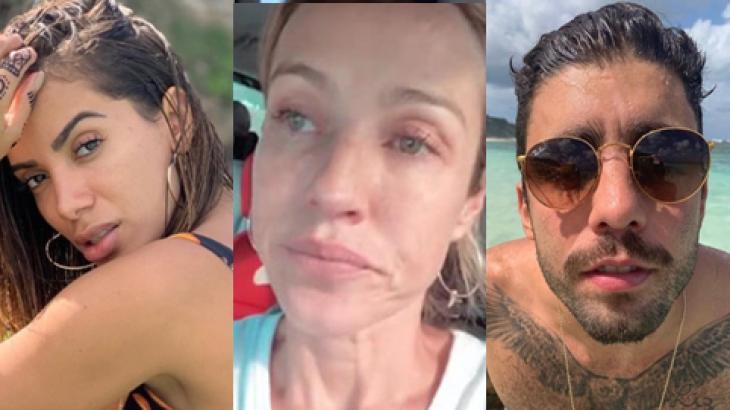 Anitta, Luana Piovani e Pedro Scooby - Foto: Montagem/Reprodução