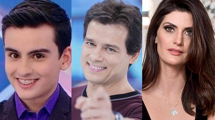 Dudu Camargo, Celso Portiolli e Isabella Fiorentino comemoram aniversário neste sábado (1º)