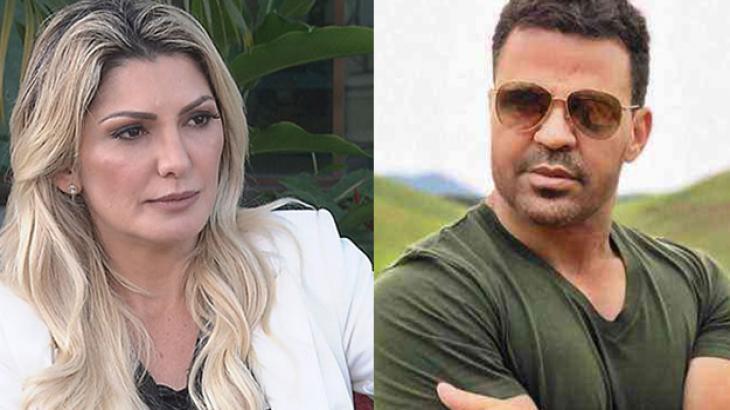 """Eduardo Costa diz que """"deu uns pegas"""" em Antonia Fontenelle e ela reclama"""