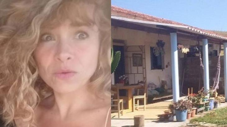 Aretha Marcos e sua casa