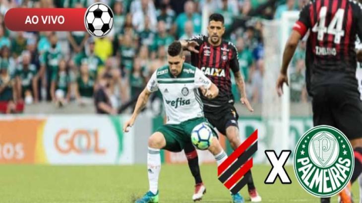 Athletico PR x Palmeiras - Foto: Divulgação
