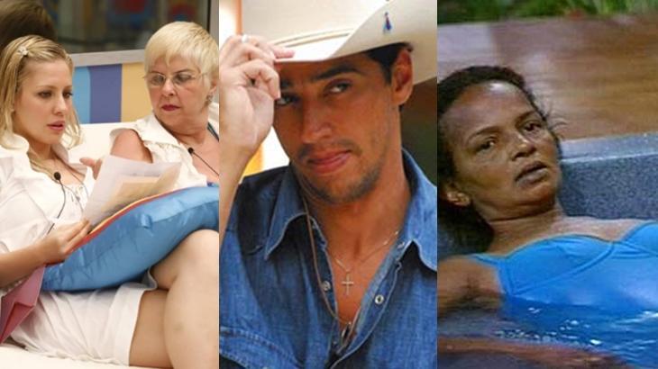 Relembre os sete fatos mais bizarros que aconteceram no BBB. (Reprodução/Divulgação/TV Globo)