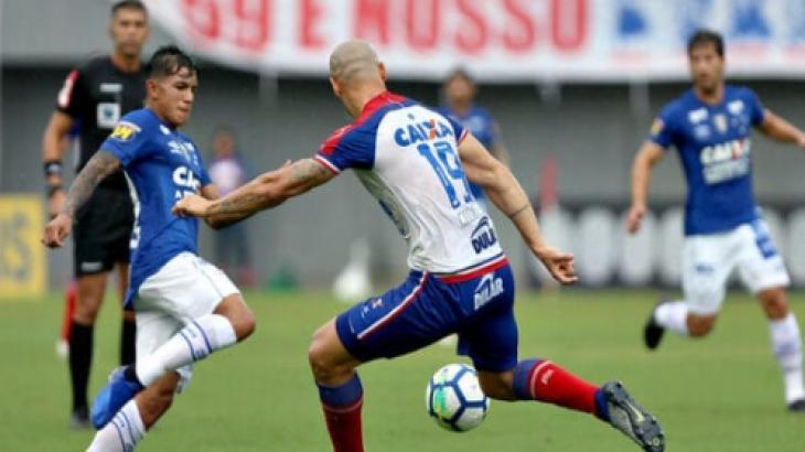 Bahia x Cruzeiro ao vivo: Transmissão no Premiere e online neste sábado, 20/07/2019