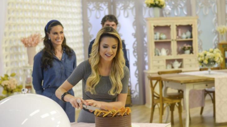 """Confeiteiros criam 'busto de joias 'no """"Bake Off Brasil - Mão na Massa"""""""