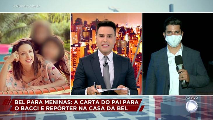Luiz Bacci rebate carta de pai de Bel no Cidade Alerta