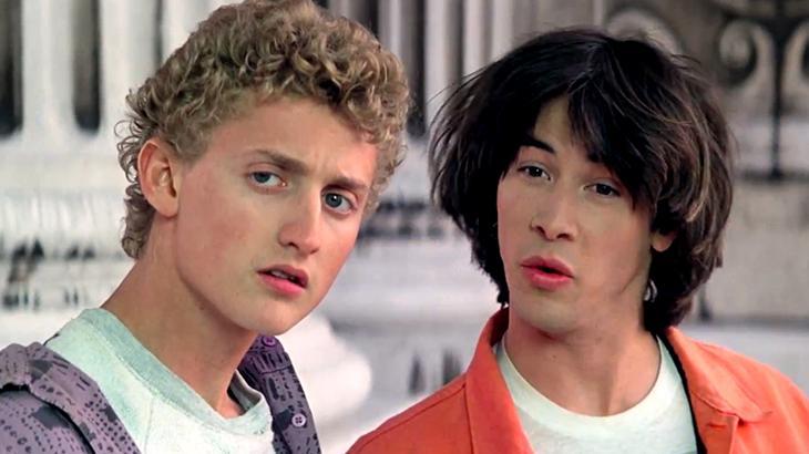 Alex Winter e Keanu Reeves voltam a interpretar Bill e Ted 30 anos depois do primeiro filme - Divulgação
