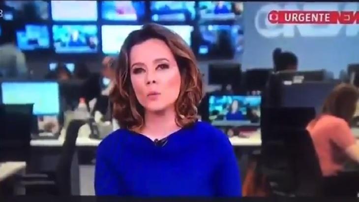 Jornalista da Globonews chamou Jair Bolsonaro de ex presidente e ele retrucou. Foto: Divulgação