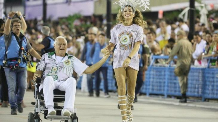 Alberto e Paloma vão desfilar no sambódromo no final de Bom Sucesso - Foto: Divulgação