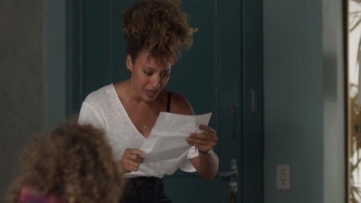 Em Bom Sucesso, Gisele vai descobrir prova contra Diogo. Foto: Divulgação/Gshow