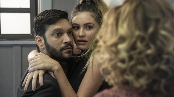 Diogo e Jeniffer serão flagrados por Eugênia em Bom Sucesso. Foto: Divulgação/Gshow