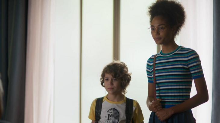 Alice vai tentar impedir Paloma de trabalhar na mansão em Bom Sucesso. Foto: Divulgação/Gshow