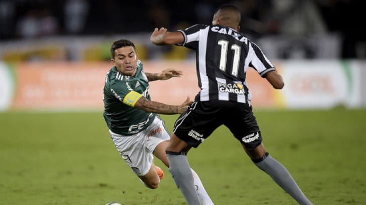 Botafogo x Palmeiras ao vivo: Como assistir na TV e online neste sábado, 25/05/2019