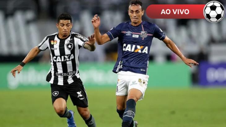 Botafogo x Santos ao vivo: Saiba como assistir online e na TV pelo Brasileirão