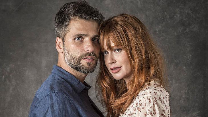 Bruno Gagliasso e Marina Ruy Barbosa são os protagonistas da nova novela