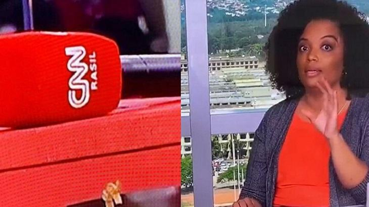 CNN Brasil está há uma semana no ar e já acumula gafes - Foto: Montagem