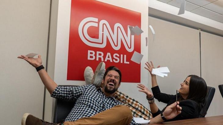 Mari Palma e Phelipe Siani na CNN Brasil