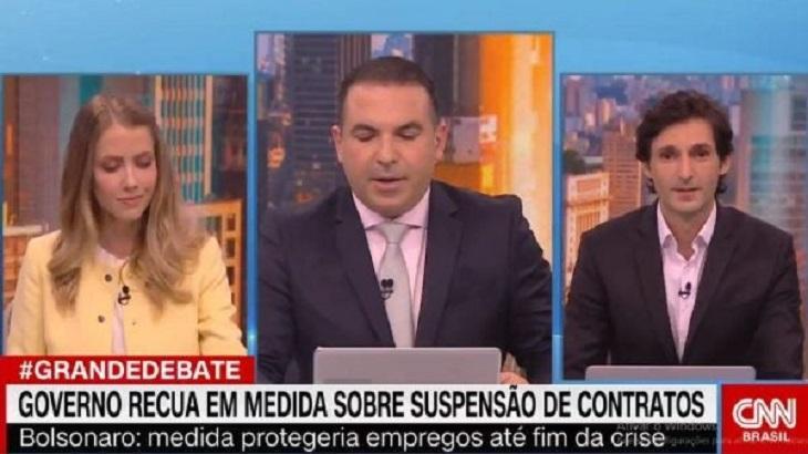 Após saída de Gabriela Prioli, CNN Brasil diz que Gottino se excedeu e anuncia mudanças