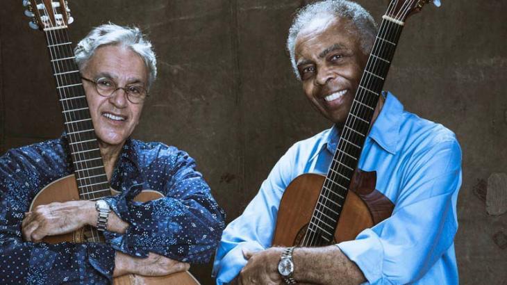 Caetano Veloso e Gilberto Gil: amizade de longa data - Foto: Reprodução