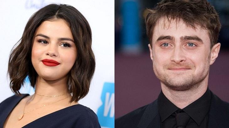 Selena Gomez e Daniel Radcliffe são duas celebridades que sofrem de doenças. Foto: Montagem