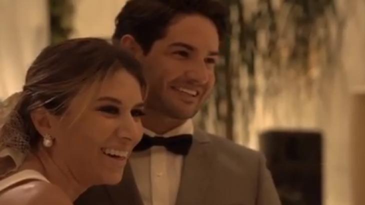 Casamento de Alexandre Pato e Rebeca - Foto: Reprodução/Instagram