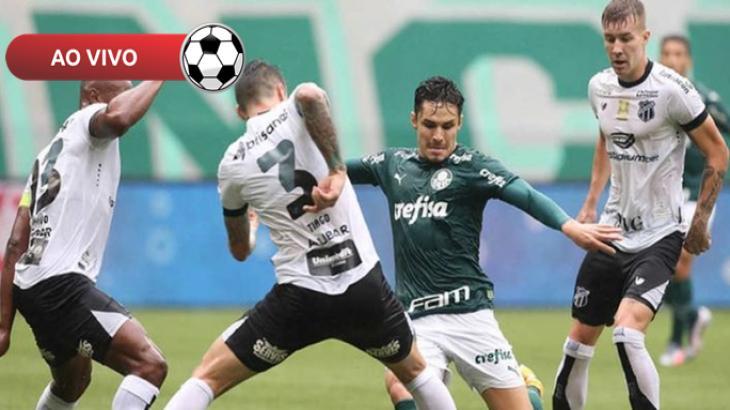 Ceará x Palmeiras ao vivo: Saiba como assistir online e na TV pela Copa do Brasil