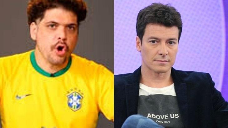 """Choque de Cultura volta a zombar de Rodrigo Faro: """"Pega sua casa, chora e vai embora"""""""