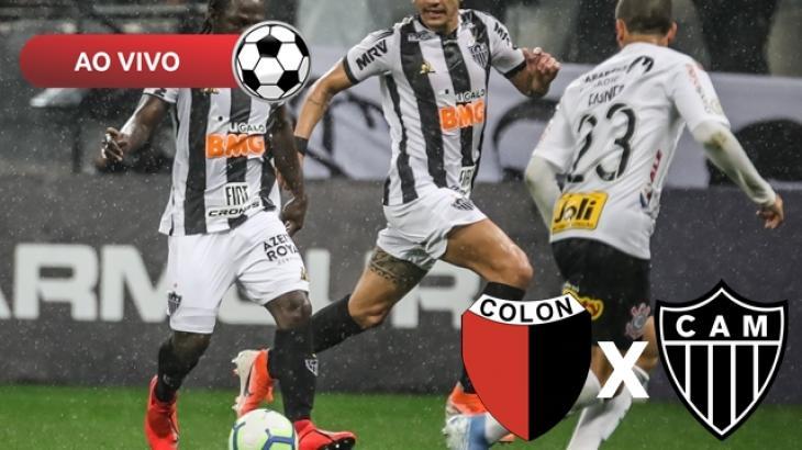 Colón x Atlético-MG - Foto: Divulgação