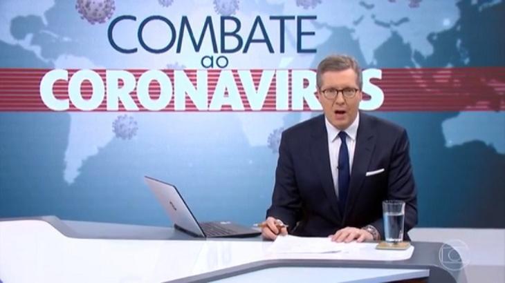 Programa Combate ao Coronavírus está em baixa no Ibope - Foto: Divulgação