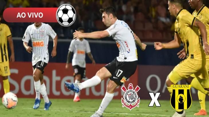 Corinthians x Guaraní ao vivo: Saiba como assistir na TV e online pela Libertadores