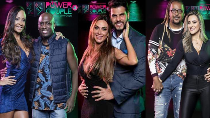 Formação da DR Power Couple 4 - Foto: Montagem/Divulgação
