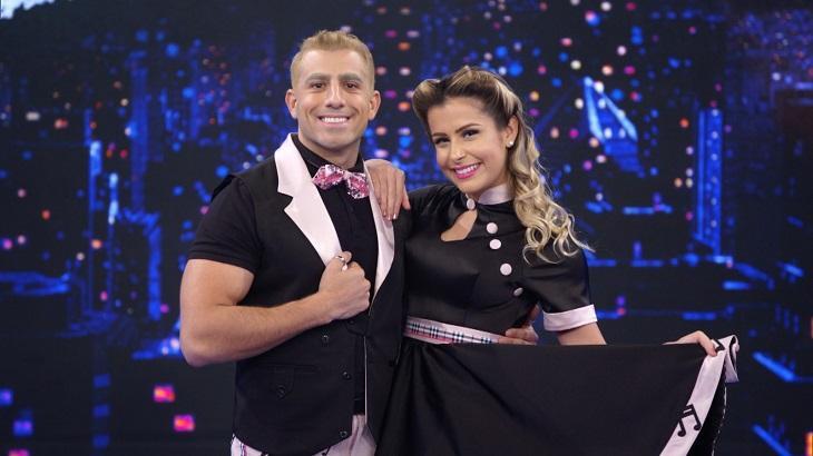 Kaysar Dadour fez Walcyr Carrasco suspirar com sua apresentação na Dança dos Famosos. Foto: Divulgação/Gshow