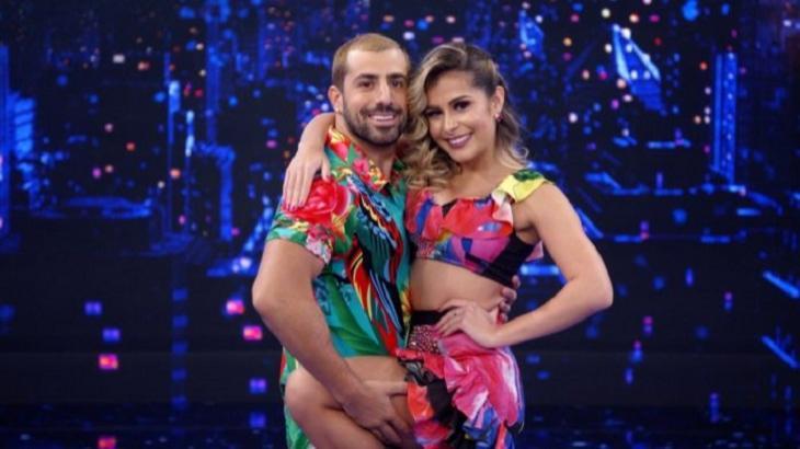 Dança dos Famosos tem Kaysar Dadour como líder na semifinal. Foto: Divulgação