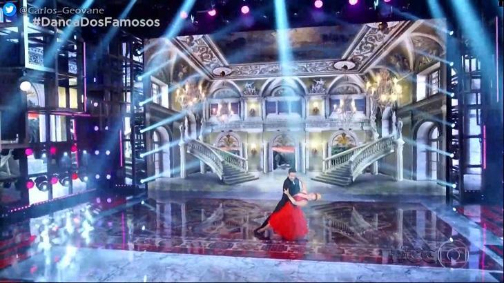 Luísa Sonza foi elogiada, mas acabou fora da Dança dos Famosos. Foto: Reprodução