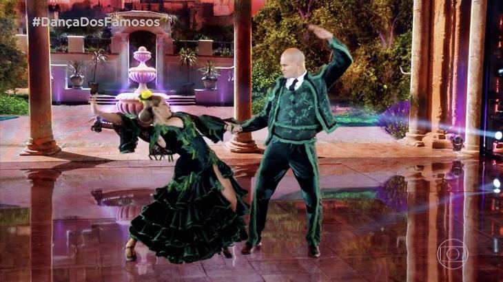 Júnior Cigano foi eliminado da Dança dos Famosos. Foto: Reprodução