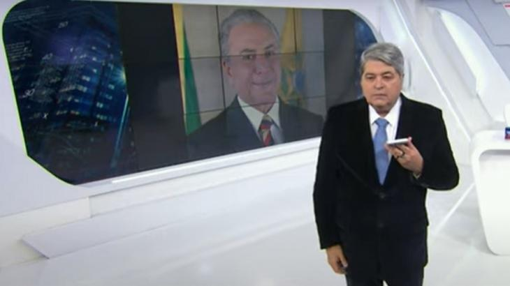 """Datena liga para Temer, defende Bolsonaro e alfineta governador: """"Não tem vacina do Dória"""""""