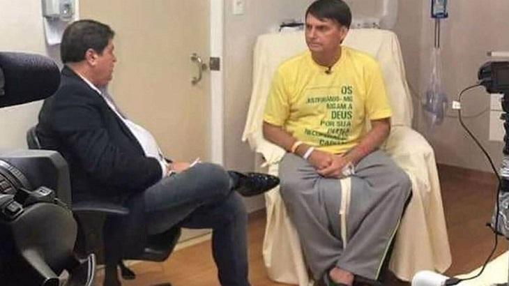 Datena pode ser candidato a prefeito pelo partido de Bolsonaro