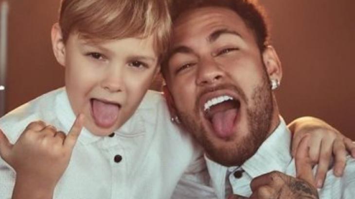 Davi Lucca e Neymar - Foto: Reprodução