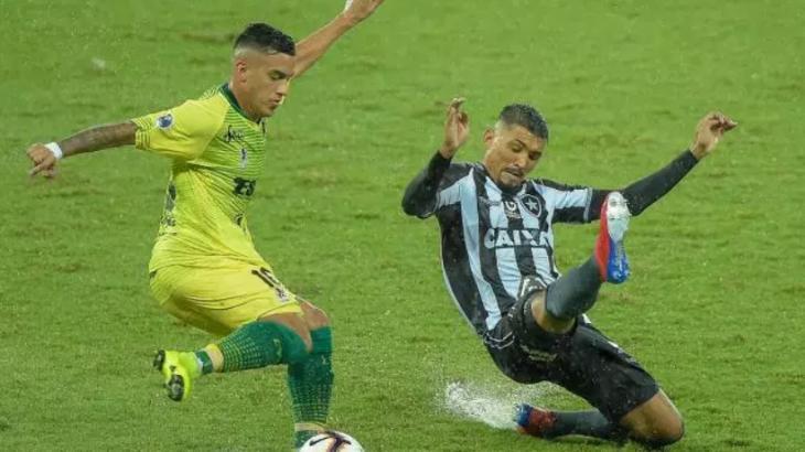 Defensa y Justicia x Botafogo - Foto: Divulgação