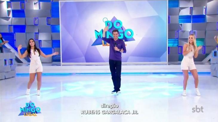 Domingo Legal foi o segundo programa mais visto fora da Globo. Foto: Divulgação