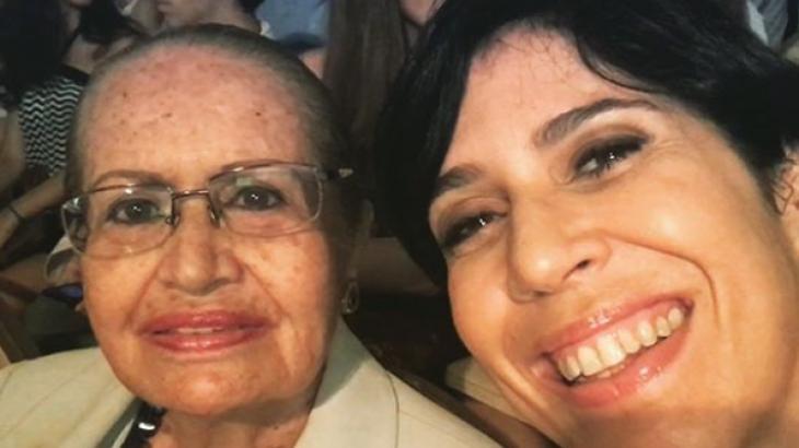 Dona Albertina e Maria Clara Gueiros