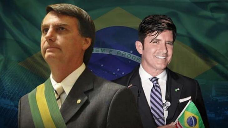 Dr. Robert Rey publica montagem ao lado do presidente Jair Bolsonaro