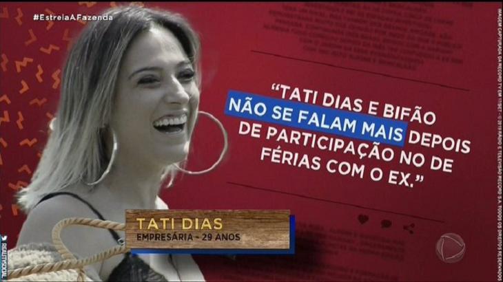 Tati Dias - Divulgação